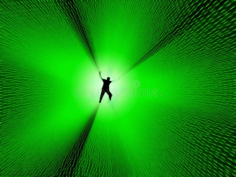 Digital Hole Royalty Free Stock Image
