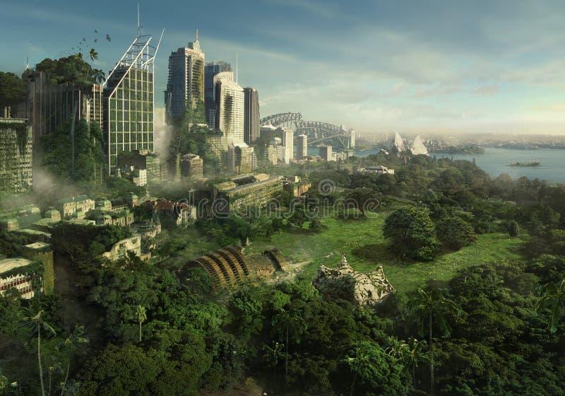 26+ Post Apocalyptic Cityscape Pics