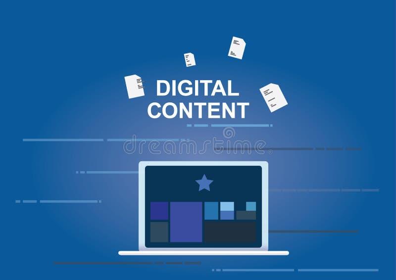 Digital-Inhaltskonzept, werden Schreibarbeit mit APP los, um durch Laptop zu organisieren stockbilder