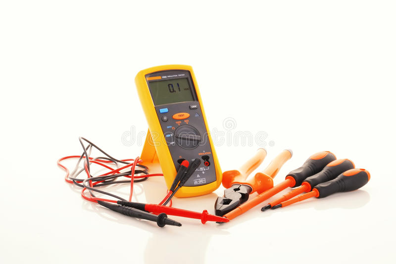 Download Digital Insulation Resistance Tester Stock Photo - Image: 20626044