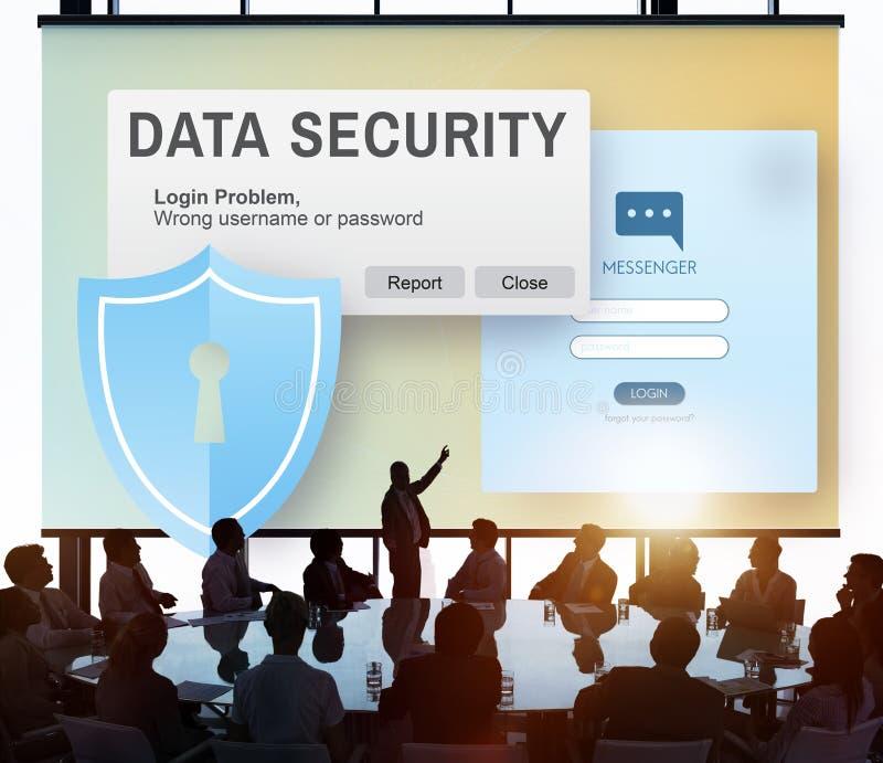 Digital Intenret Phishing för datasäkerhet online-begrepp royaltyfria bilder