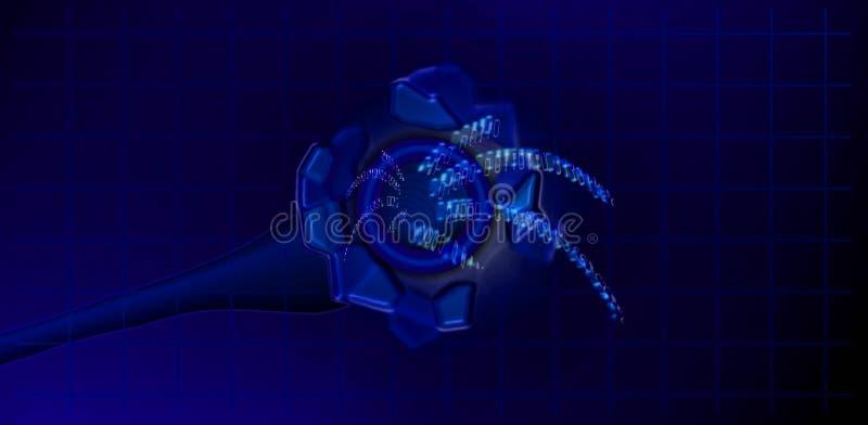 Digital Kabel Royaltyfria Foton