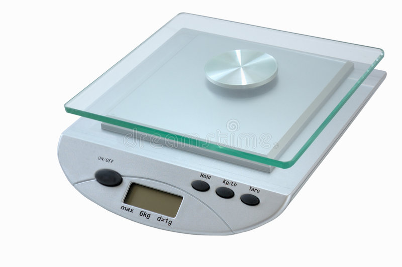 Download Digital kitchen scale stock image. Image of equipment - 9011123