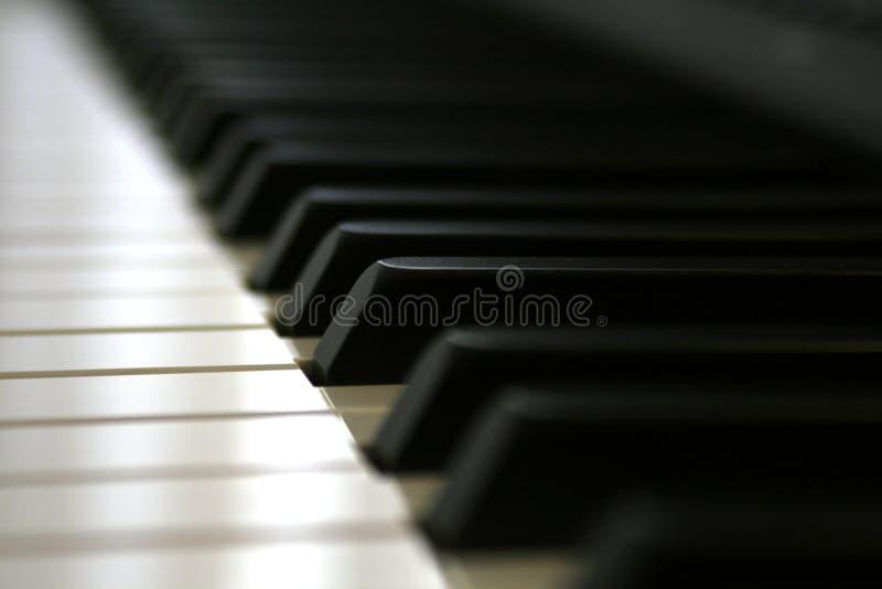 Digital-Klaviertasten schließen oben lizenzfreie stockfotografie