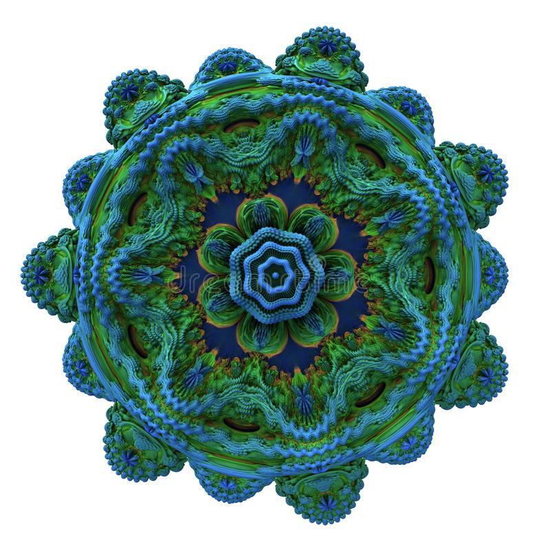 Digital konstdesign 11138 för abstrakt fractal arkivfoto