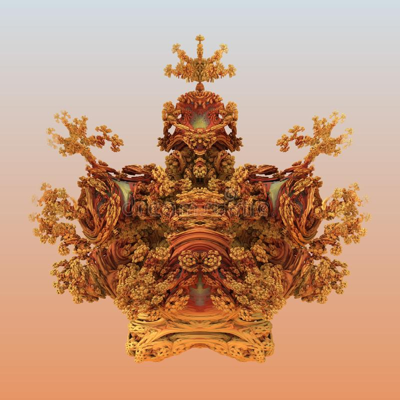 Digital konstdesign 11140 för abstrakt fractal royaltyfri foto