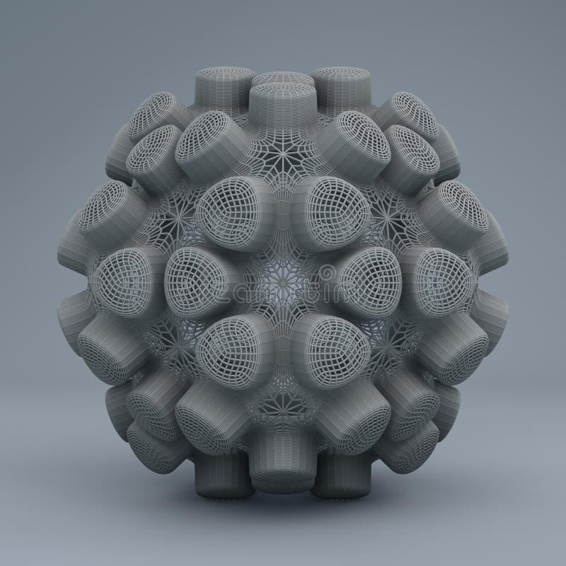 Digital konstdesign 11142 för abstrakt fractal royaltyfria bilder