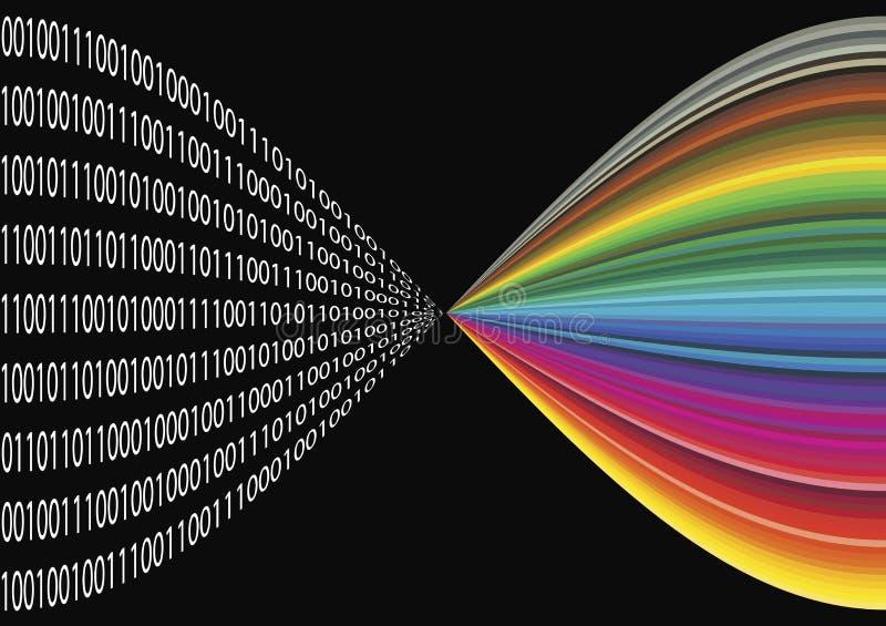 digital kopiering vektor illustrationer