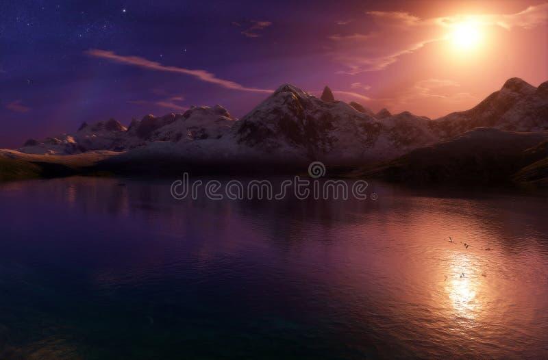 Digital Lake Free Stock Photo