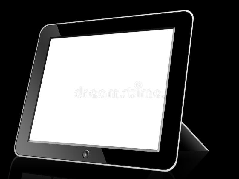 Digital LCD Frame. Black blank Digital LCD Frame on white background stock photography