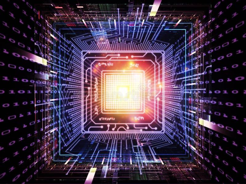 digital livstid för CPU royaltyfria foton