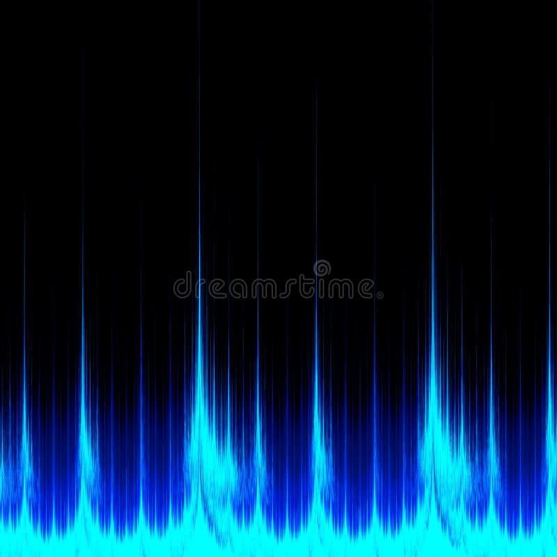 Digital ljudsignal royaltyfri illustrationer