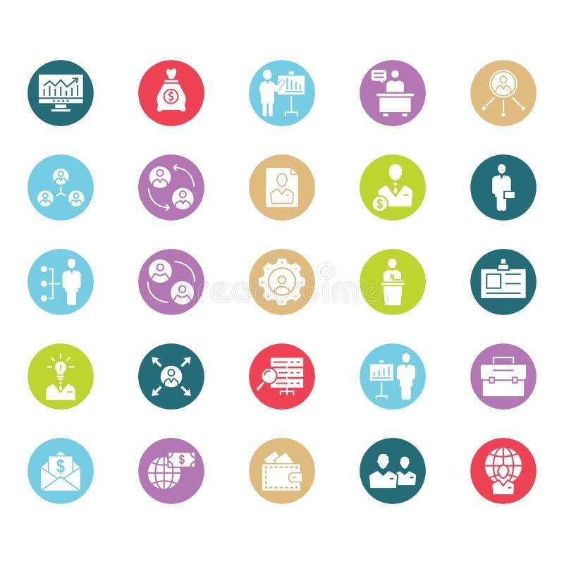 Digital-Marketing lokalisierte Vektorikone, die leicht sein kann redigieren oder änderte lizenzfreie abbildung