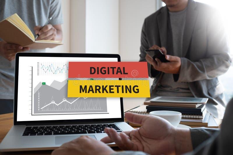 DIGITAL MARKETING new startup project MILLENNIALS Business team stock photos