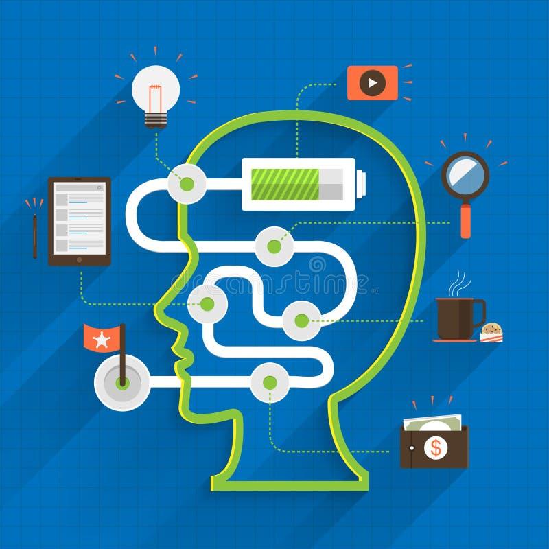 Digital marketing stock illustration
