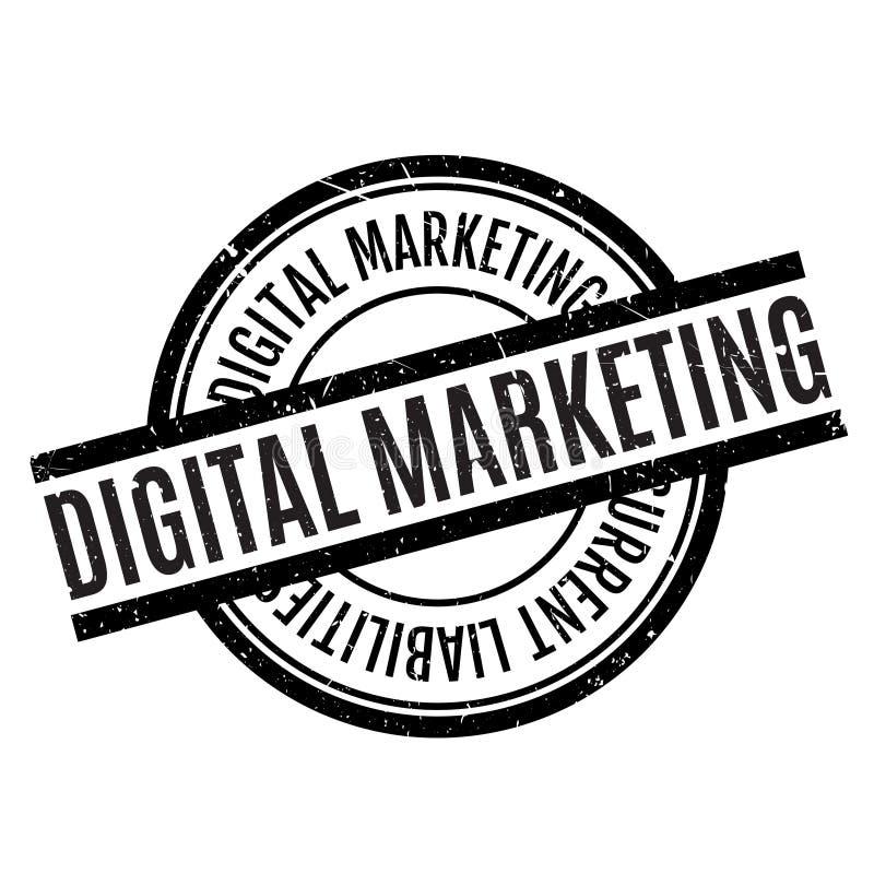 Digital-Marketing-Stempel vektor abbildung