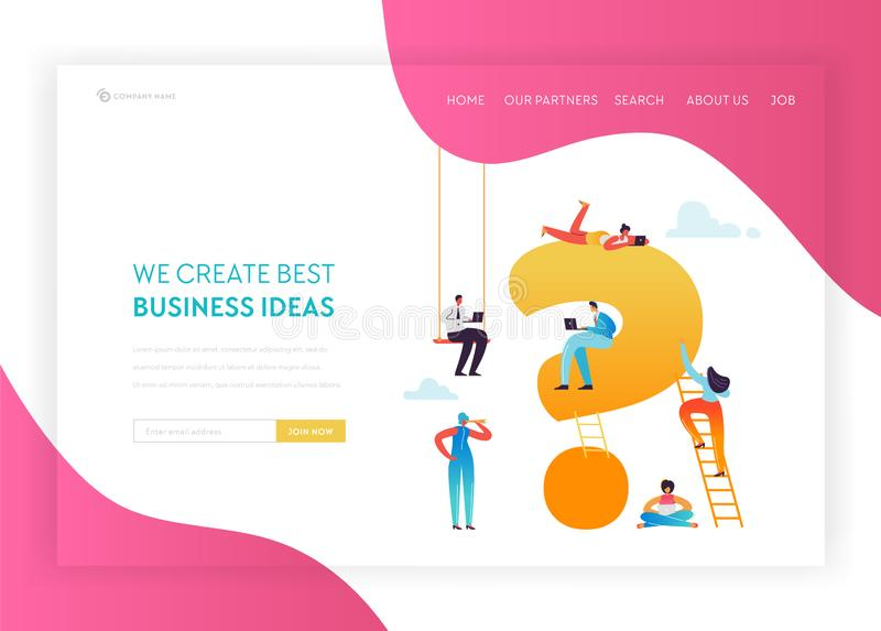 Digital Marketing Technology Landing Page Template. Social Media Networking Concept with People Characters. Content Strategy Management Website Banner. Vector royalty free illustration