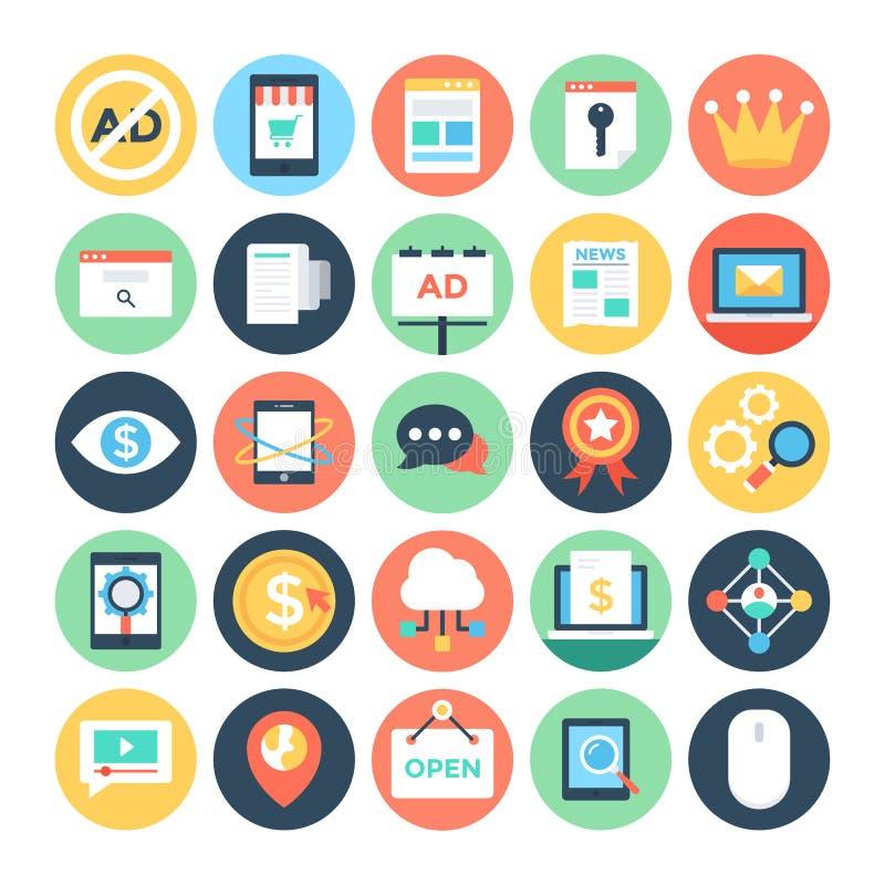 Digital Marketing Vector Icons 2 vector illustration