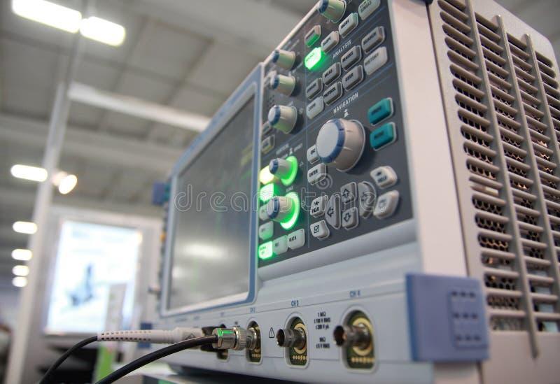 Digital measure unit. stock photography