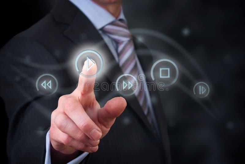 Digital Media Control royalty free stock images