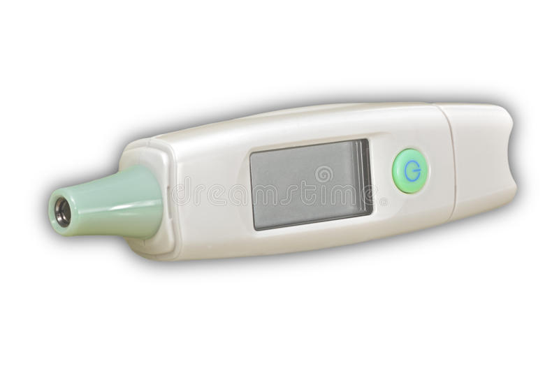 Digital medical thermometer stock images