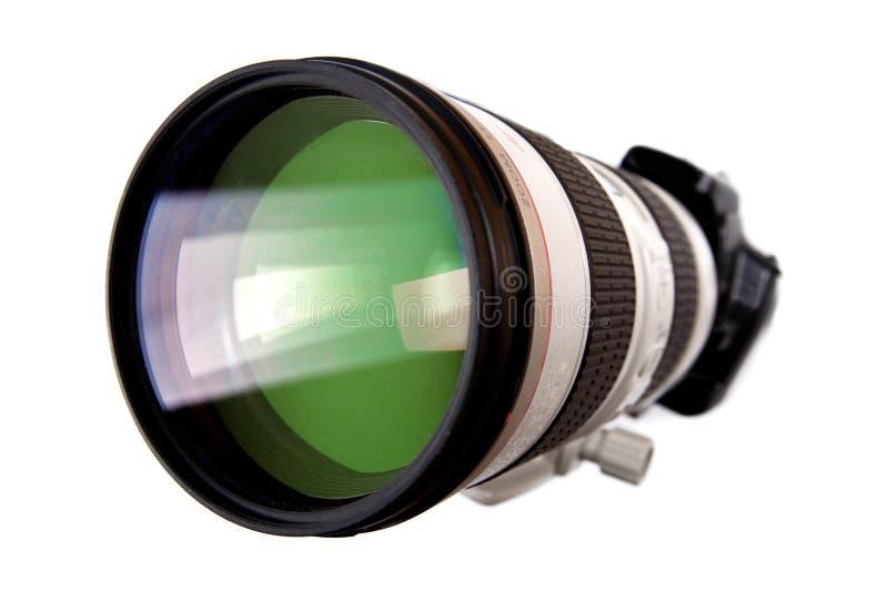 digital modern dslrlins för stor kamera arkivfoto