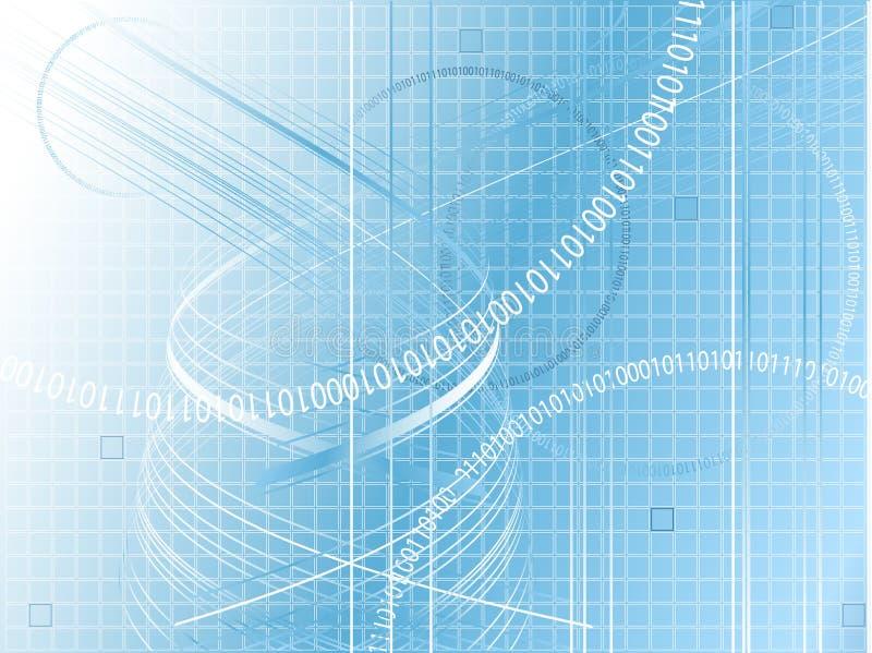 digital modern vektor royaltyfri illustrationer
