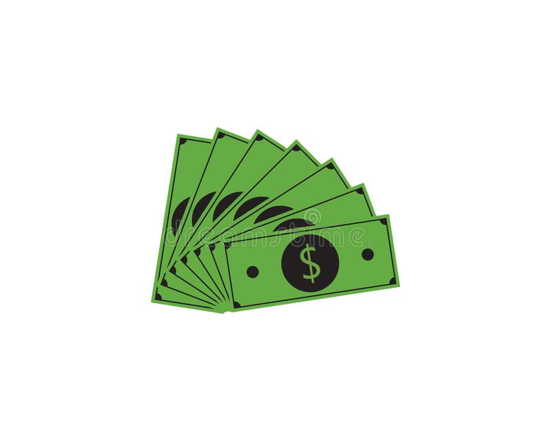 Digital Money logo vector. Template, finance, icon, business, design, concept, cash, symbol, bank, financial, currency, illustration, banking, dollar, abstract stock illustration