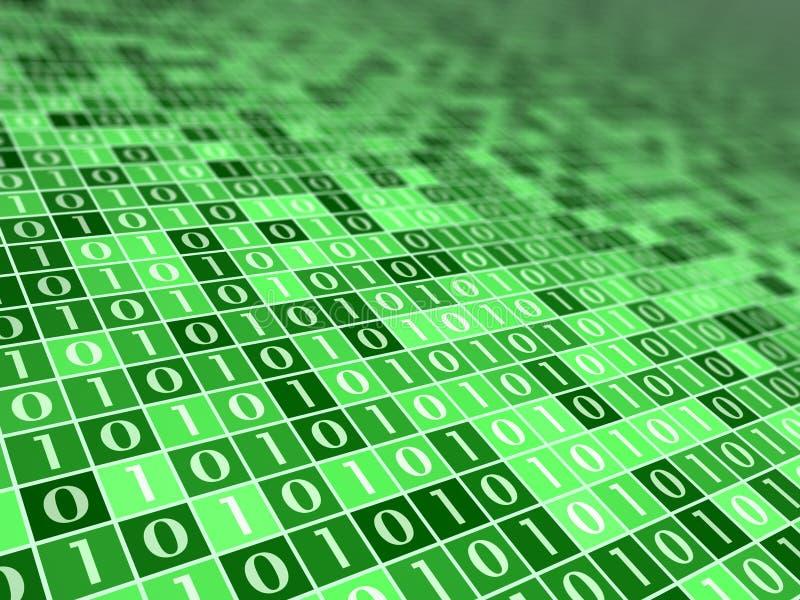Digital Mood Green B vector illustration
