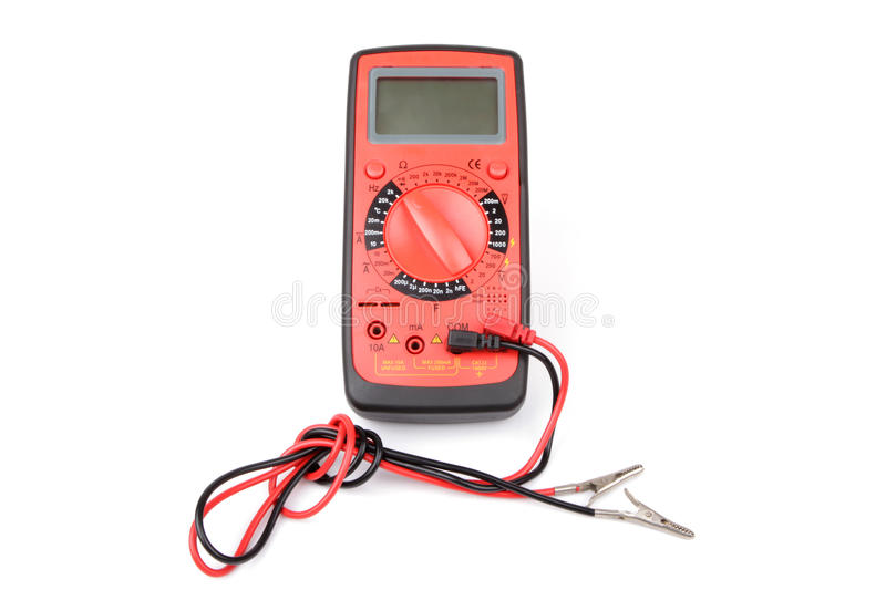 Download Digital multimeter stock photo. Image of electricity - 26684572