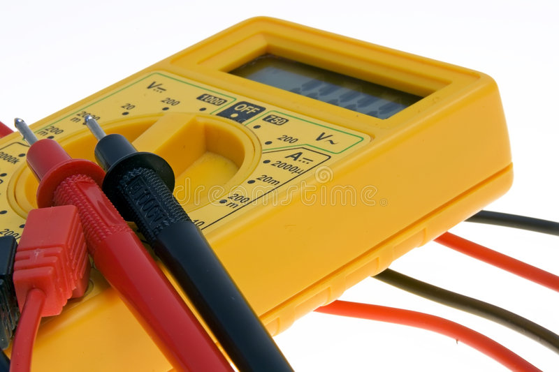 digital multimeter royaltyfria bilder