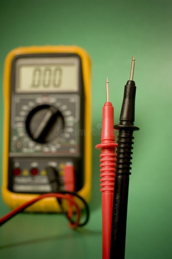 Download Digital multimeter probes stock photo. Image of amperes - 1011096