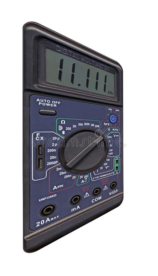 Download Digital Multimeter With Switch, Measurement, Royalty Free Stock Photo - Image: 12446525