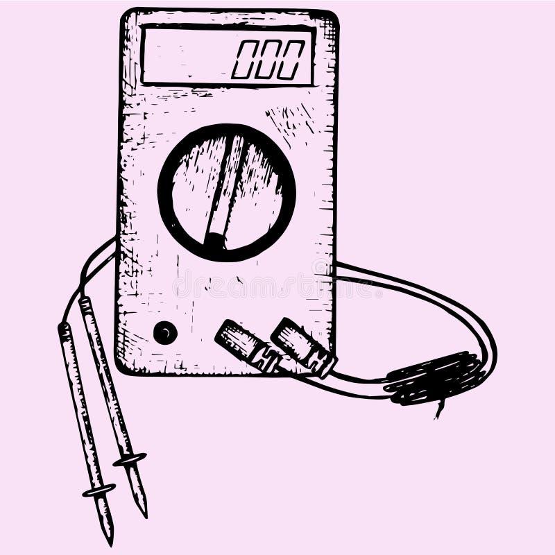 Digital Wires Stock Illustration Illustration Of Number