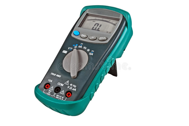 Download Digital  multimeters stock photo. Image of contemporary - 17458954
