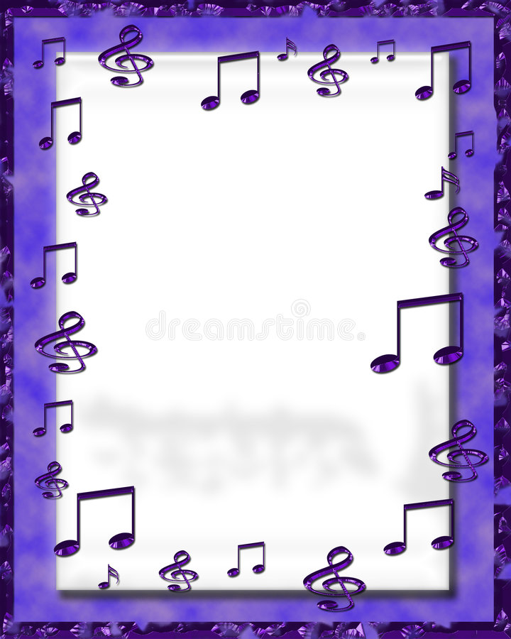 Free Digital Music Frame Stock Image - 6805121
