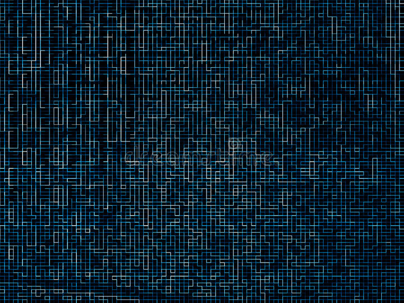 Digital networks blue maze pattern texture background. Hd royalty free stock photography