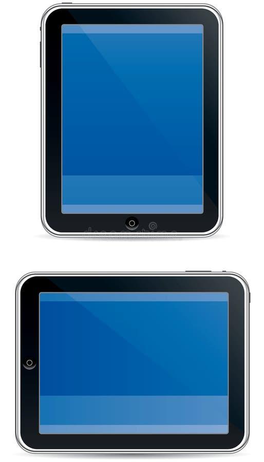 Digital pad style computer vector illustration