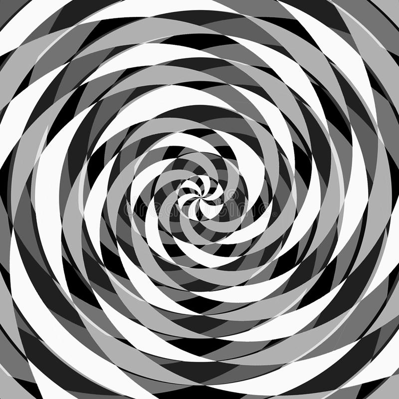 Digital Painting Abstract Black and White Background vector illustration
