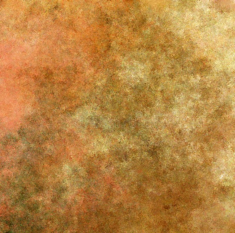 Digital Painting Abstract Multi-Color Spatter Stroke Old Rustic Beige Color Wall with Dirty Smudge and Mold Background. Digital Painting Beautiful Abstract Multi stock illustration