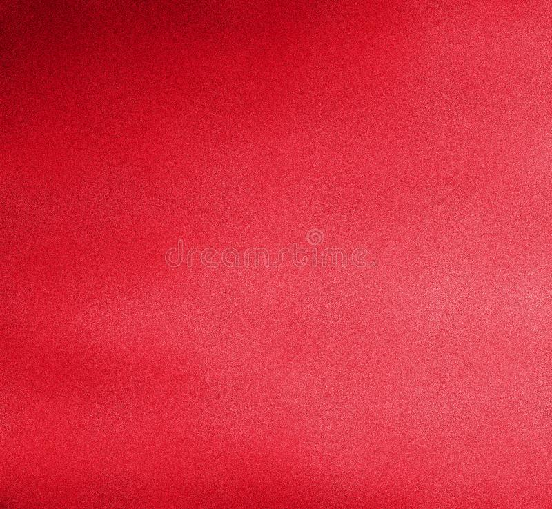 Digital Painting Colorful Background in Blood Red Color on Sandy Grain Layer stock illustration