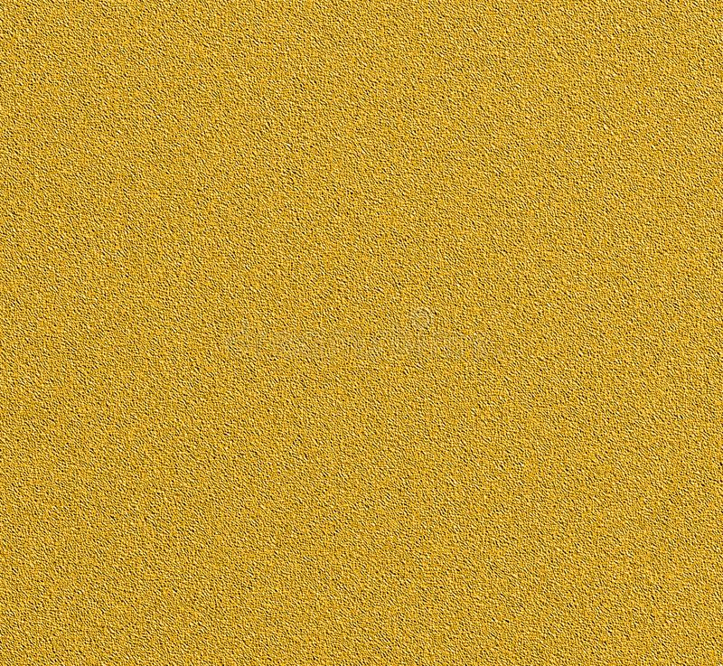 Digital Painting Stucco Texture with Gold Color Background royalty free stock image