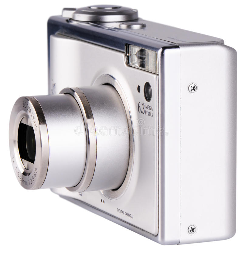 Download Digital photo camera stock image. Image of glass, compact - 13911433