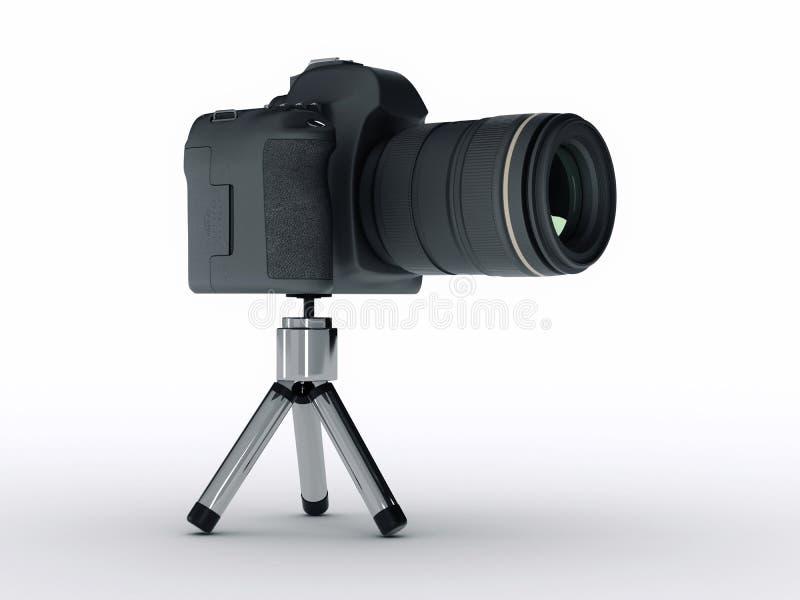 Digital photo camera vector illustration