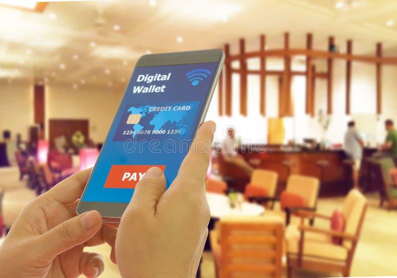 Digital plånbok royaltyfri foto