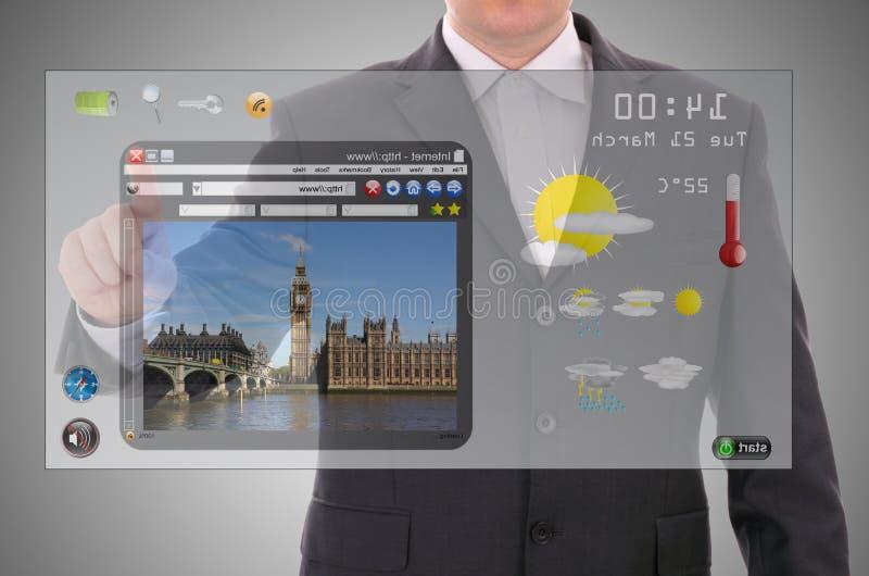 Download Digital Presentation Of London Stock Photo - Image: 27070772
