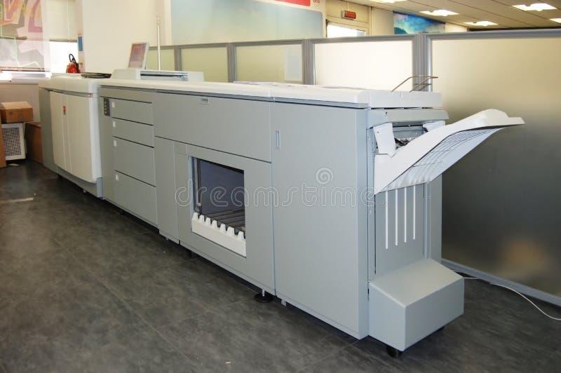 Digital press printing - book print stock photography
