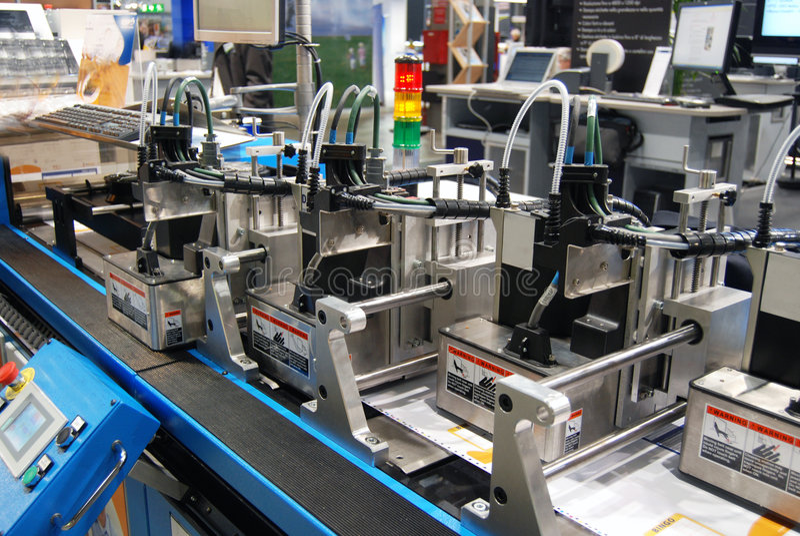 digital pressprinting royaltyfri fotografi
