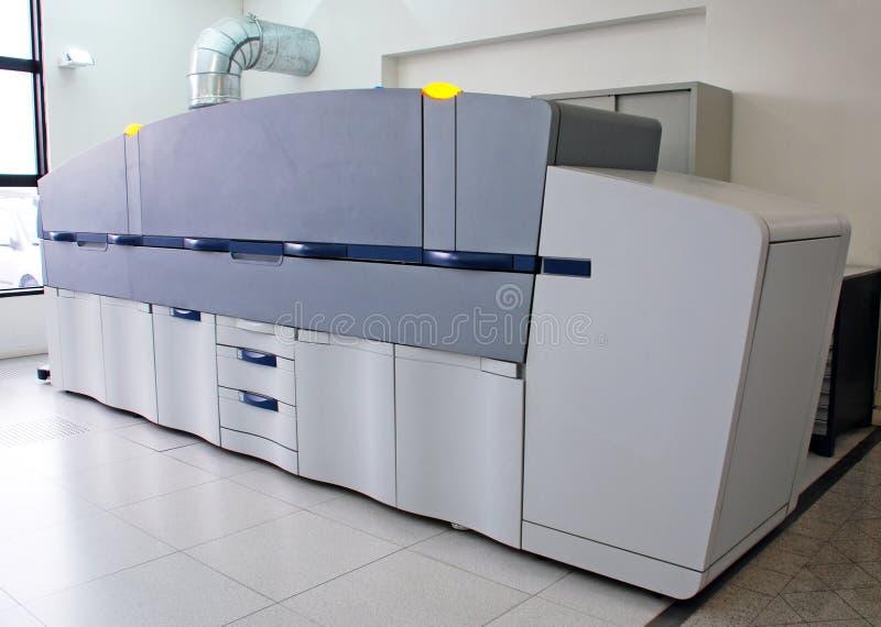 digital pressprinting royaltyfria bilder