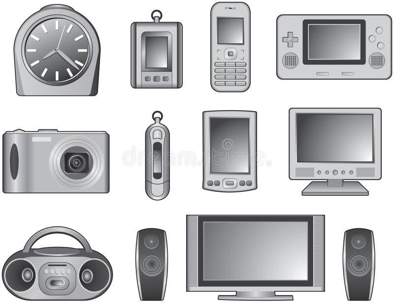Digital-Produkte lizenzfreie stockfotos